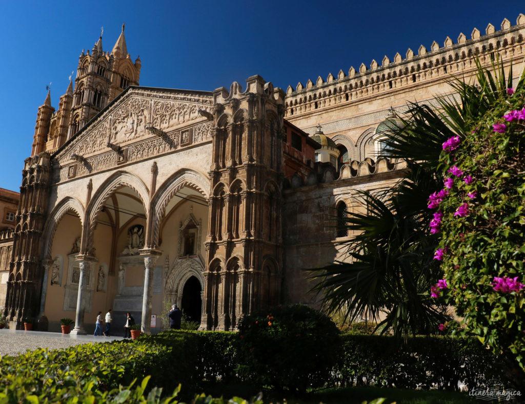 Que voir à Palerme. Cathédrale de Palerme