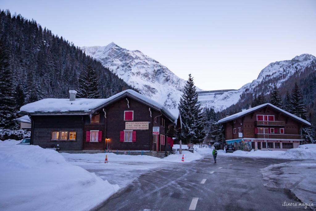 val d'herens suisse en hiver
