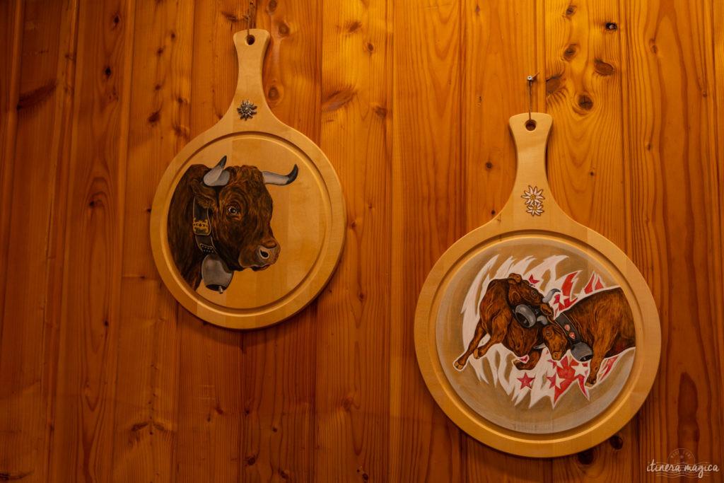 val d'herens suisse en hiver raclette