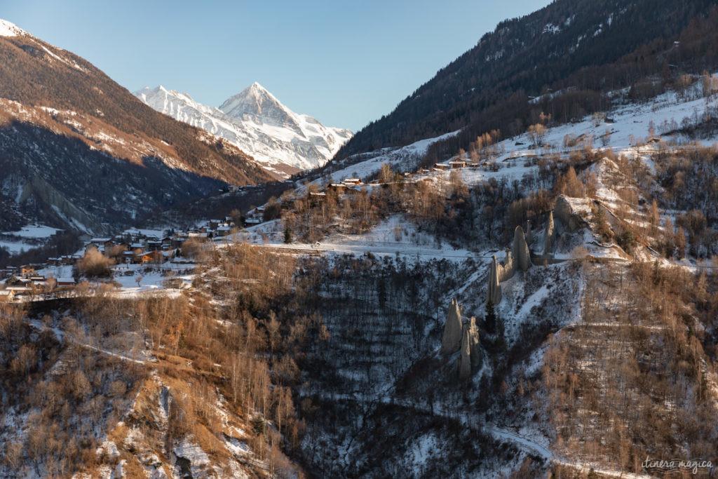 suisse en hiver