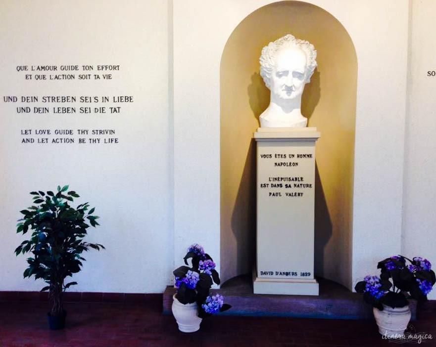 Ein armseliger Goethe in Sessenheim.