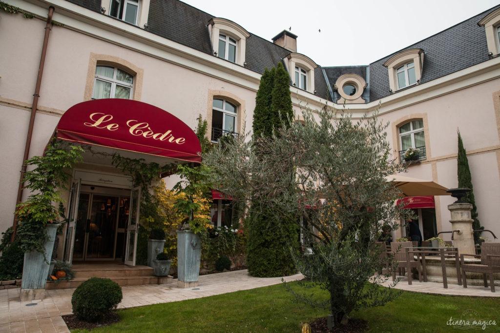 hostellerie le cèdre à beaune hôtel luxueux romantique beaune