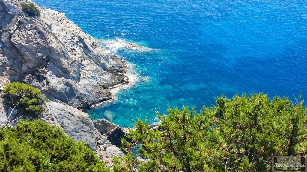 port-cros, îles d'or, calanque, méditerranée, paca, var
