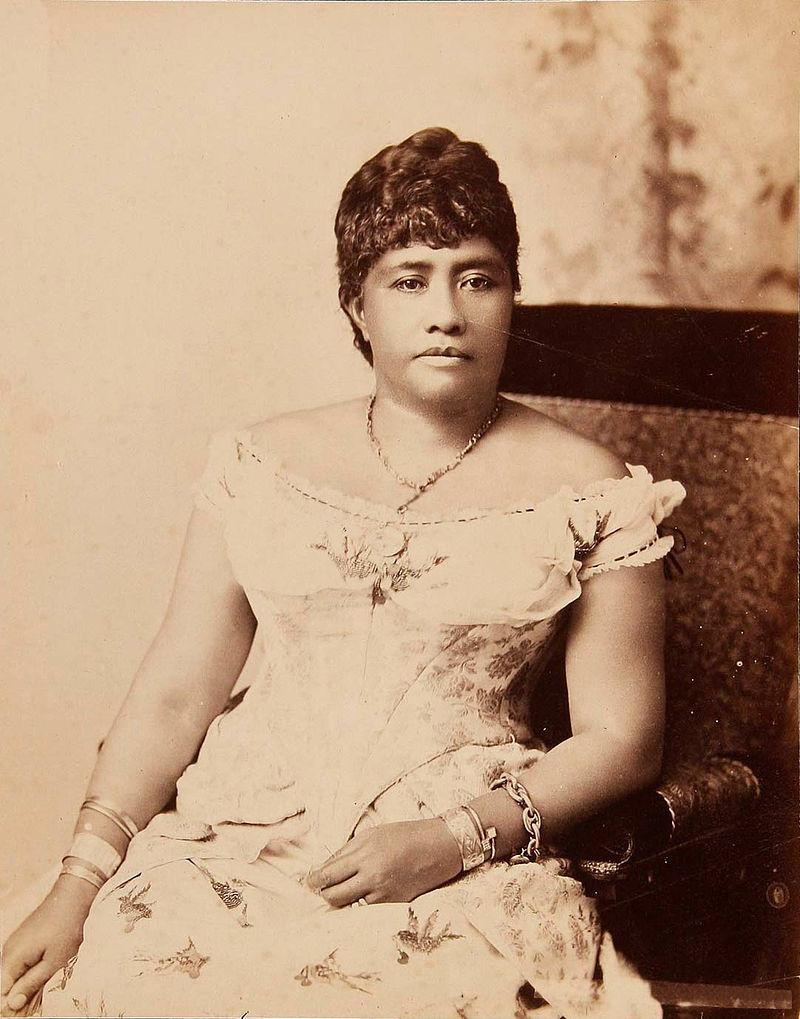 La princesse Liliuokalani.