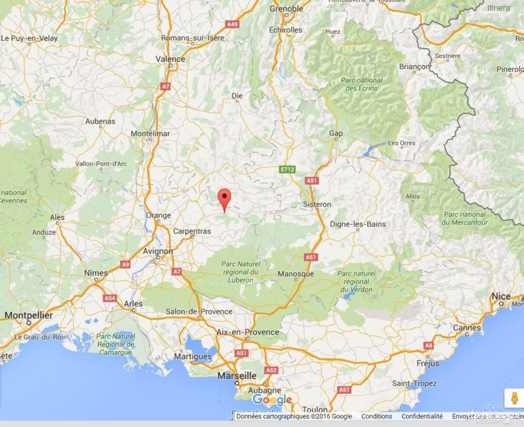 Le Mont Ventoux, au coeur de la Provence