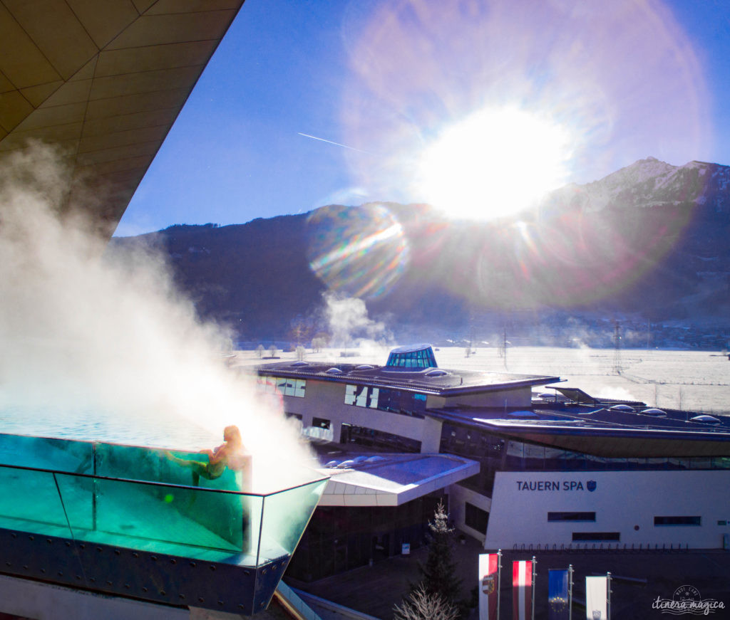 Tauern Spa Kaprun. Planning the perfect winter trip to Austria? Best experiences and things to see in the Austrian Alps.