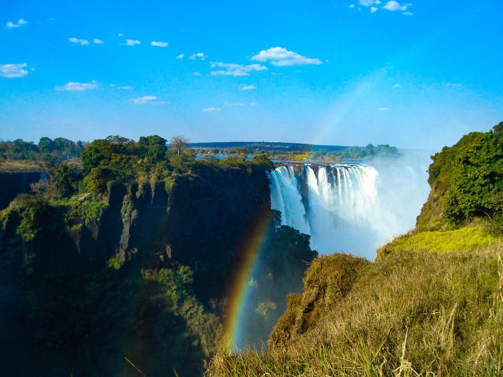 cascade victoria afrique zimbabwe