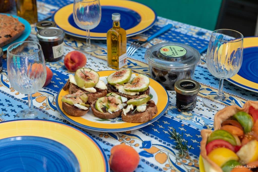 Découvrez l'olive noire de Nyons AOP et des recettes à base d'olive, d'huile d'olive et d'affinade.