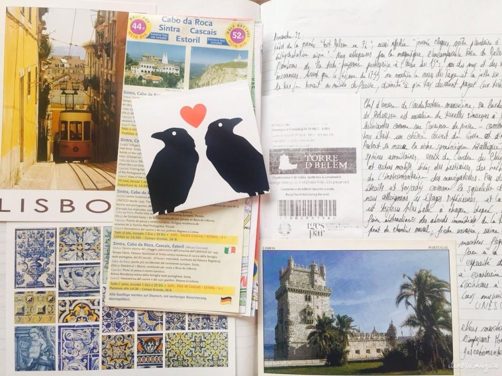 Extrait de mon cahier de voyage.