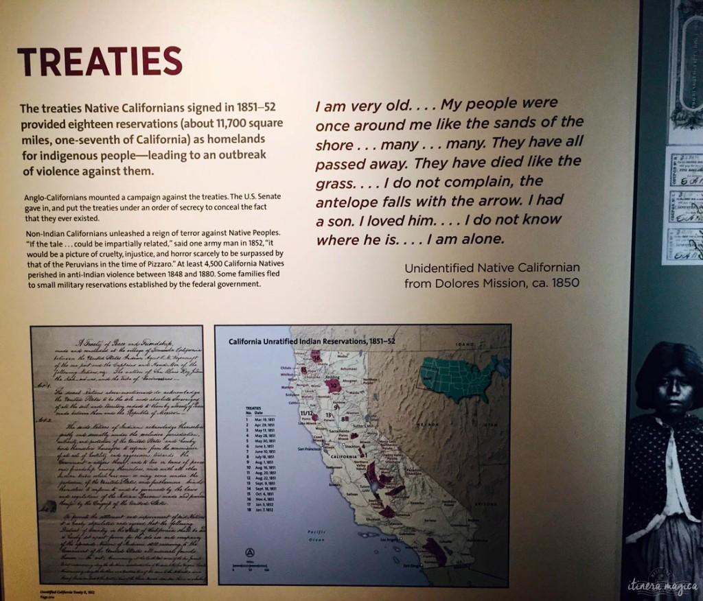 Traités de Californie.