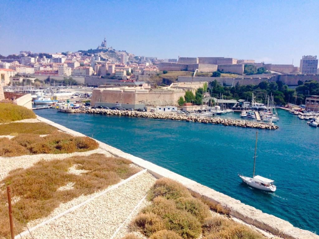 Marseille, MUCEM, vieux port, fort Saint Jean, mer, Méditerranée, Bonne mère, église