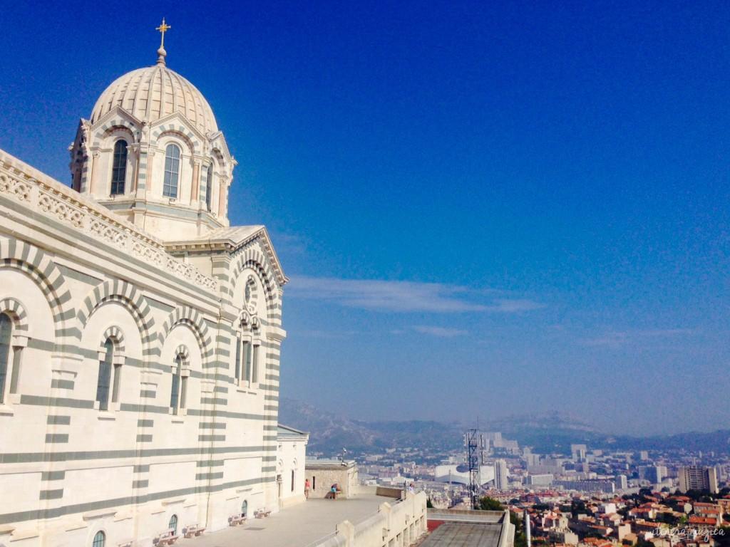 église, marseille, vue, provence