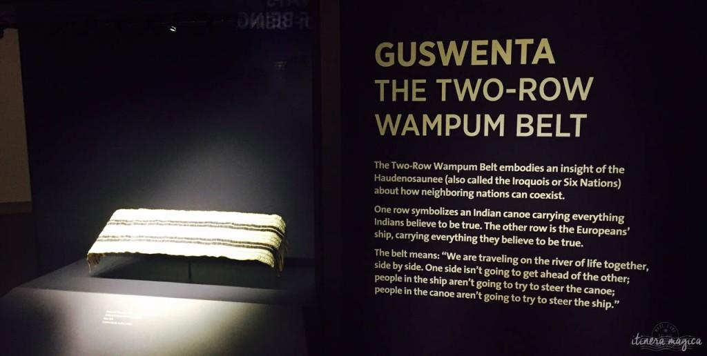 La Guswenta, symbole du respect mutuel. Deux trajectoires parallèles sur une même rivière.