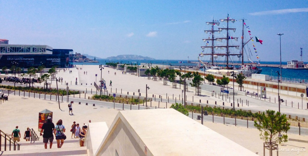 Marseille, MUCEM, Major, cathédrale, bateau, port