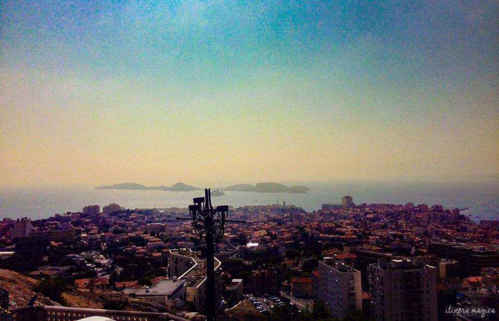 Frioul, Marseille, Bonne Mère, église, vue, photo, voyage