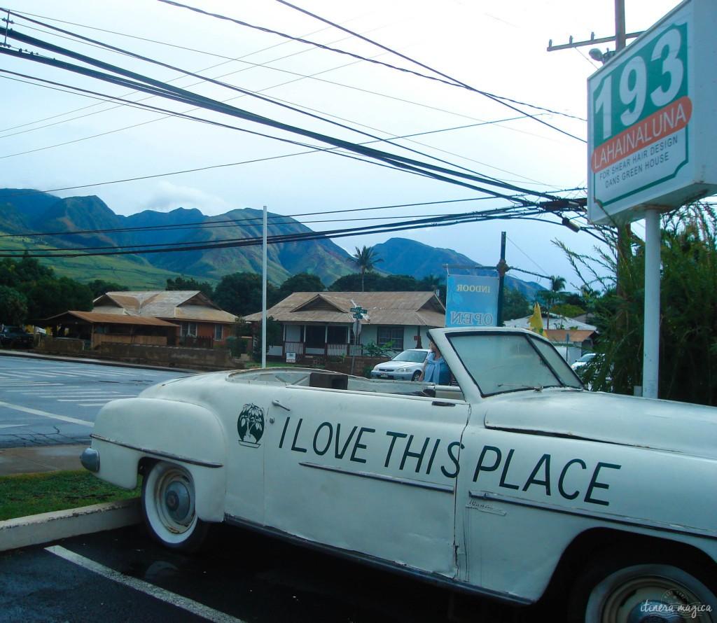 So do I. Lahaina, Maui.