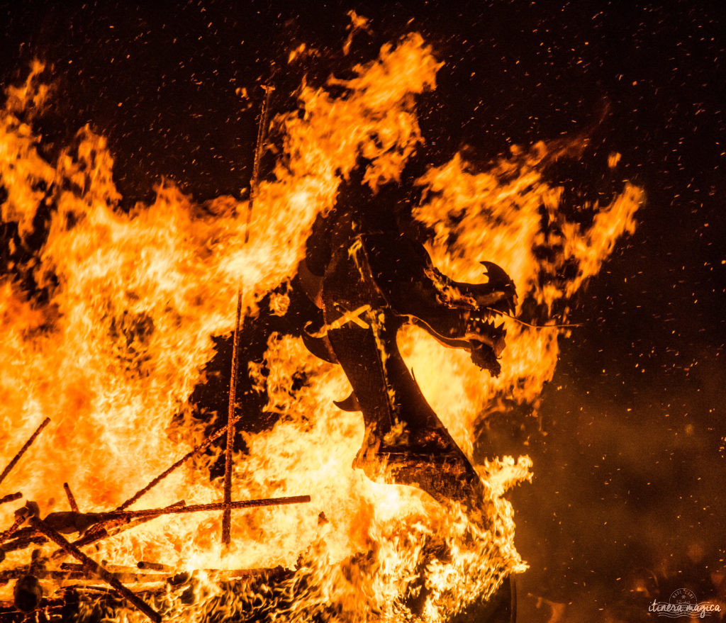 Viking festival in Scotland Up Helly aa