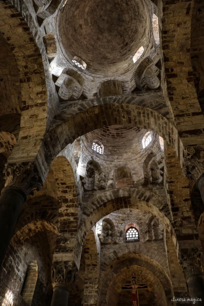 San Cataldo, die normannische Kirche im schlicht-nüchternen Stil