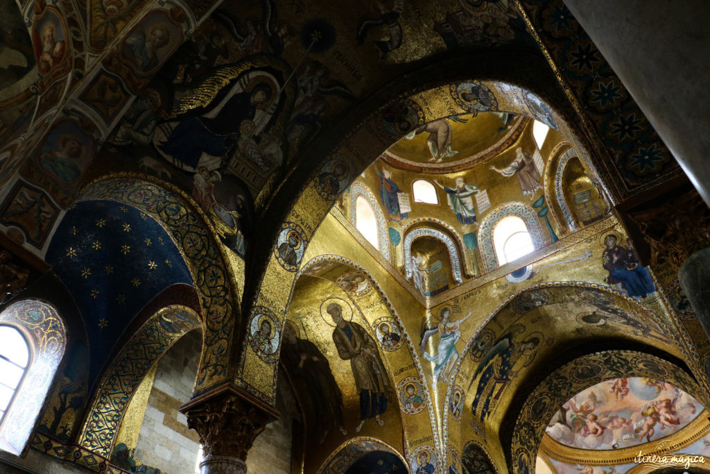 Eglise de la Martorana à Palerme. Que voir à Palerme