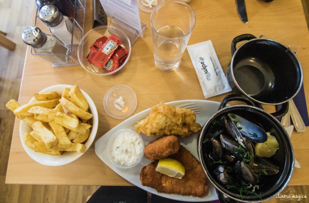 où manger à Shetland