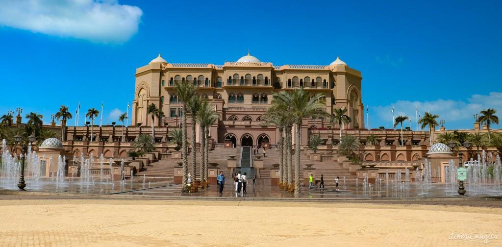 Le luxueux Emirates Palace, l'un des hôtels les plus chers du monde.