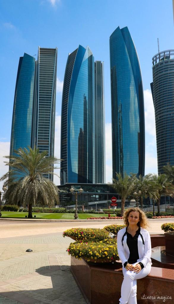 Touriste heureuse mais féministe tourmentée à Abu Dhabi.