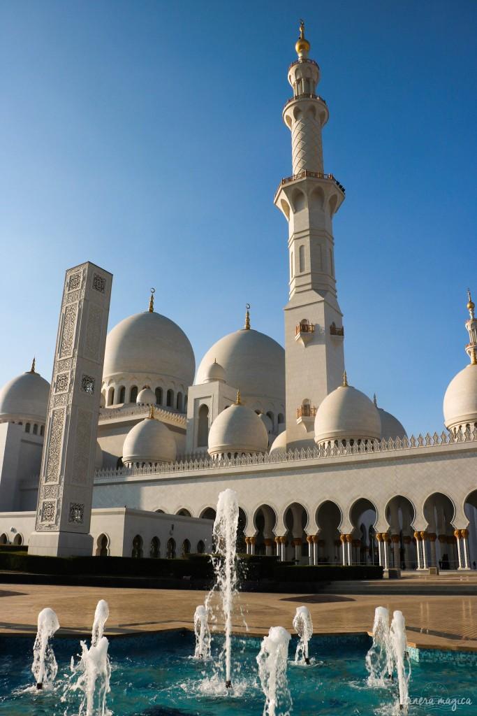 Dômes et minarets de la mosquée blanche.