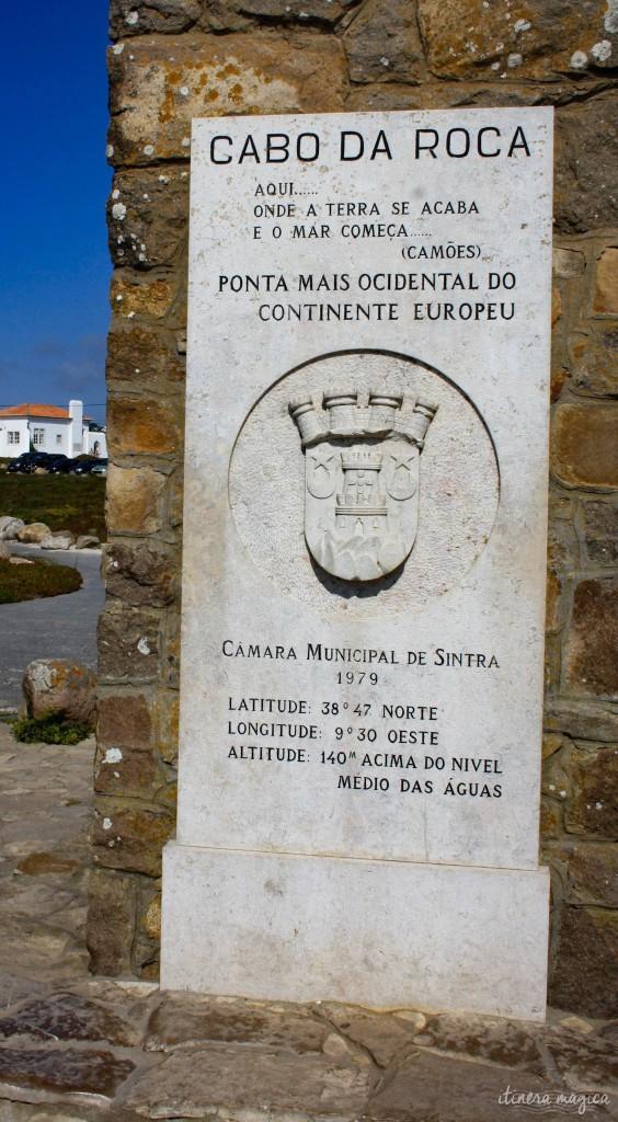 Celebrating latitudes at Cabo da Roca.