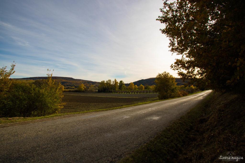 Route Drôme provençale vélo