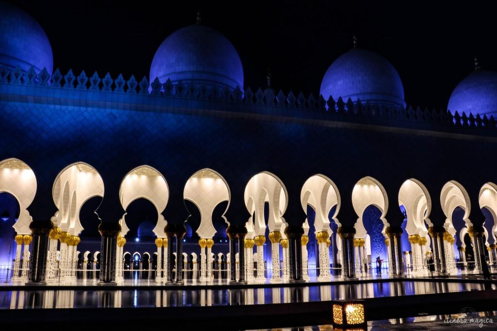 La mosquée qui porte le nom de Cheikh Zayed.