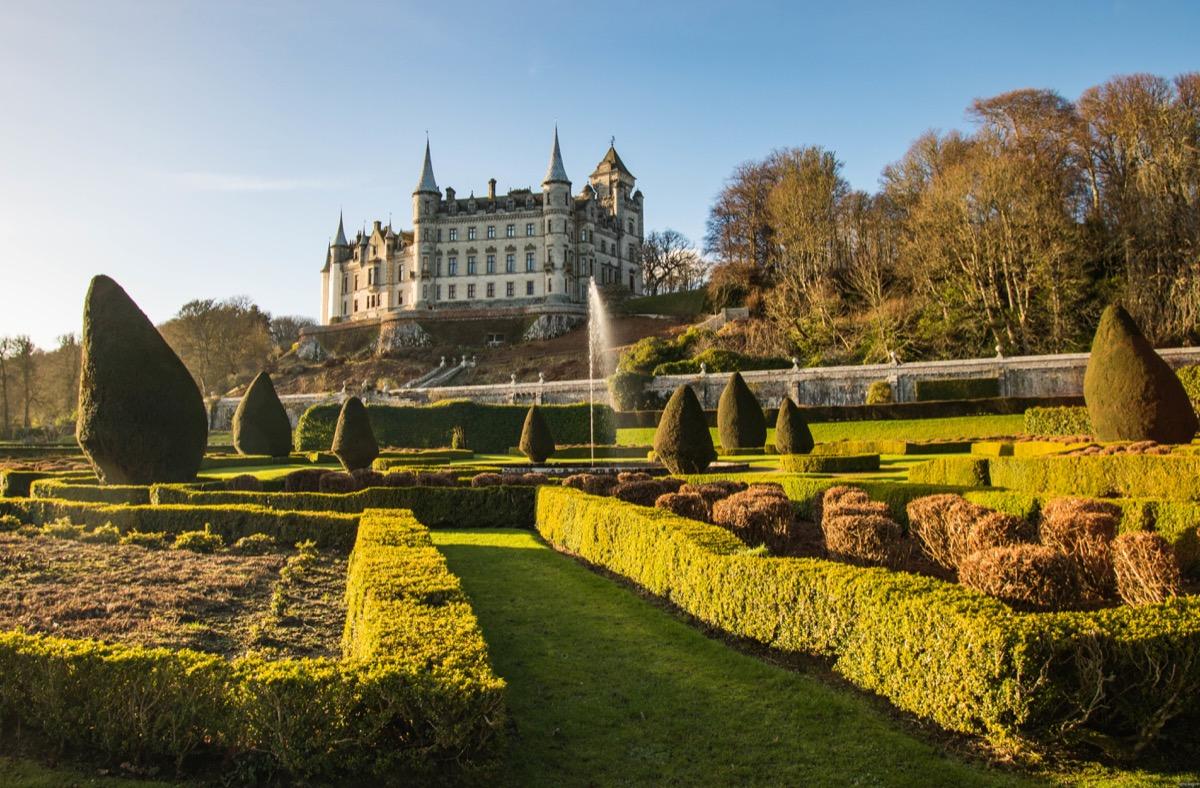 Château de Dunrobin, nord de l'Ecosse
