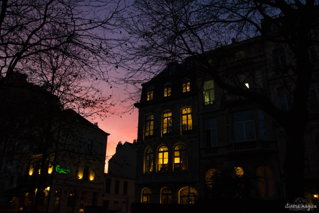 Bruxelles en deux heures, ça se lit en deux minutes.