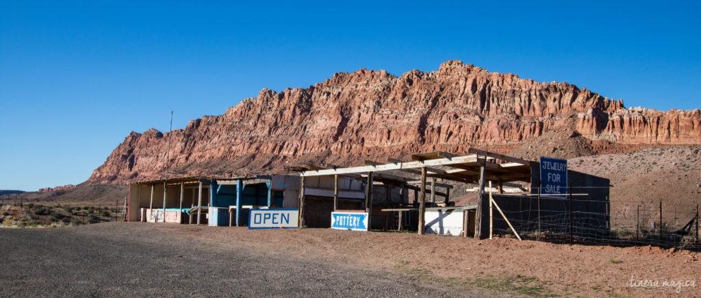 Le pays navajo sur Itinera Magica