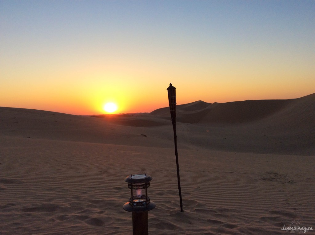 blog voyage arabie désert coucher de soleil