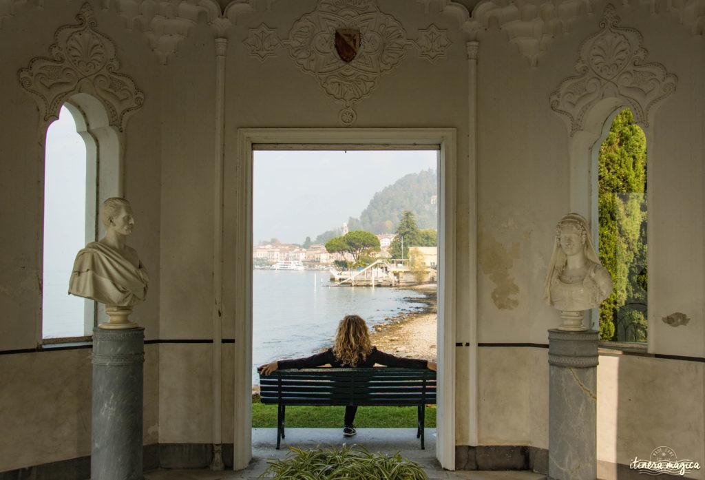 villa melzi bellagio lac de côme à l'automne plus belle villa automne