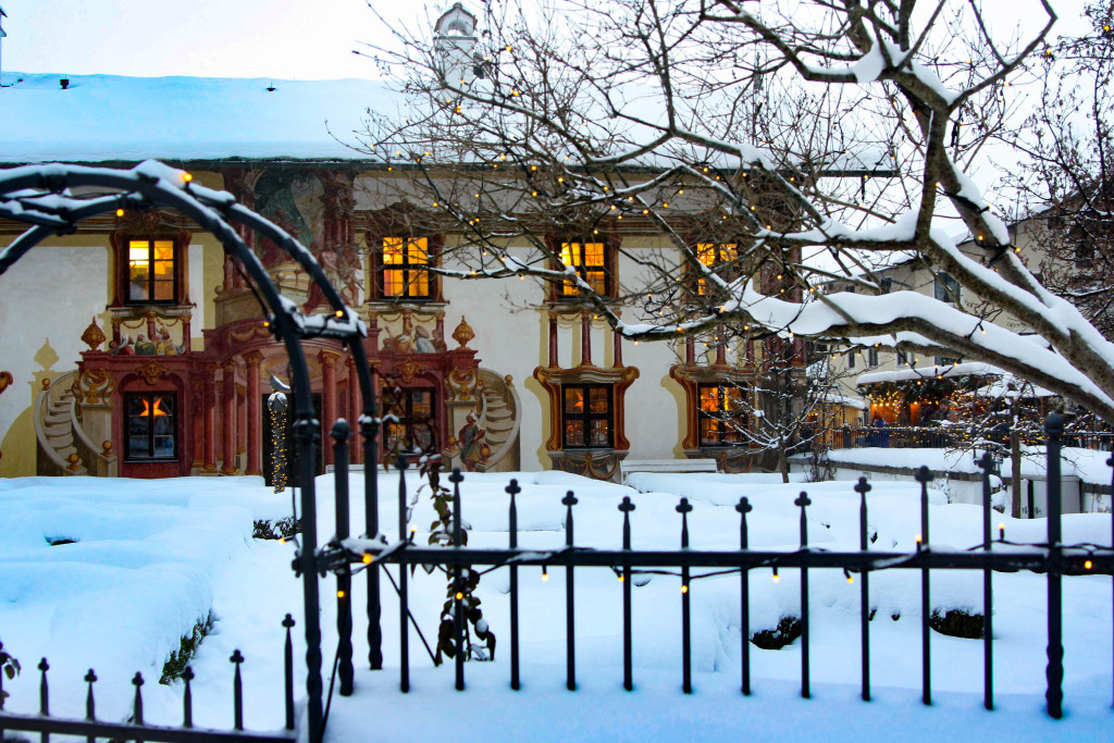 Oberammergau avant Noël.