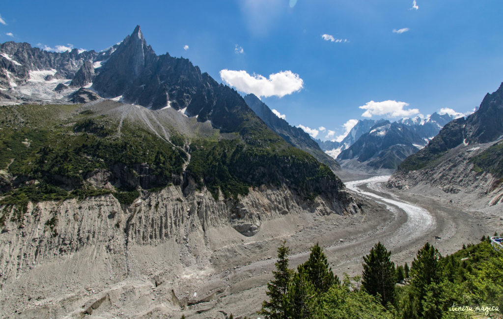 Glaciers de Chamonix.
