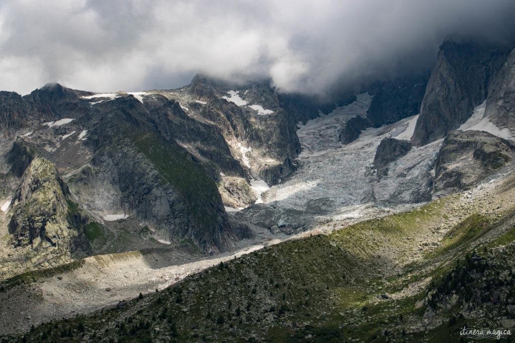 Découvrez les glaciers de Chamonix, les plus beaux des Alpes françaises. #chamonix #alpes #glacier