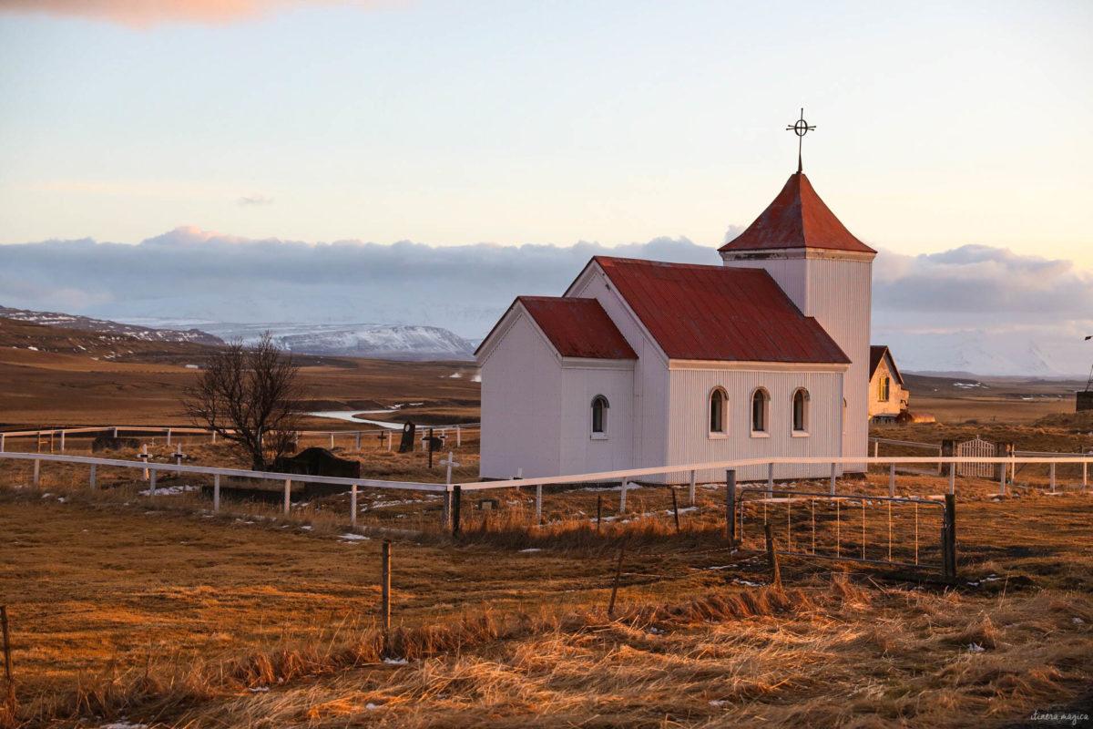 snaefellsnes en hiver islande en mars