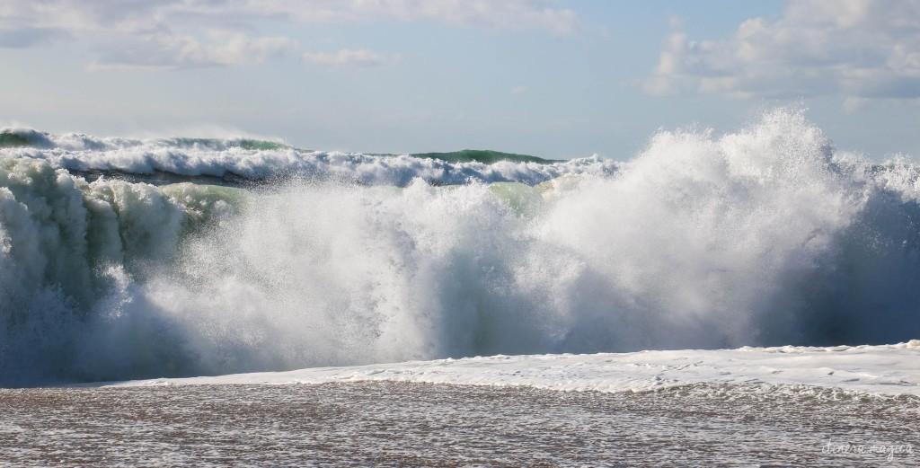 Waves in Hossegor.
