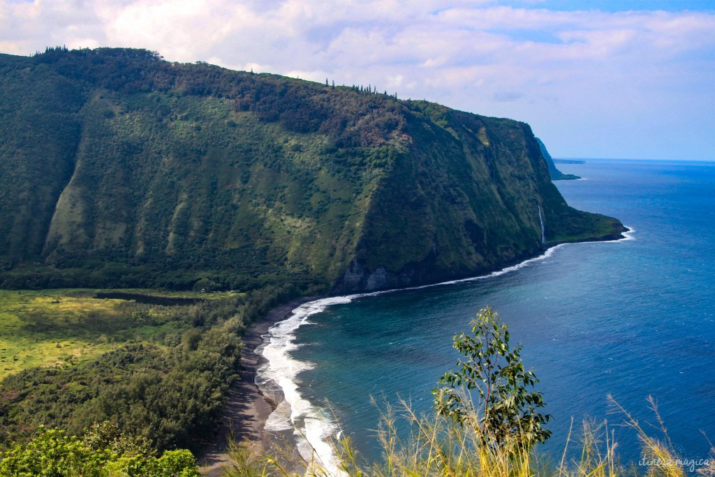 Waipio Valley, the sacred valley of kings, on the Big Island of Hawaii.