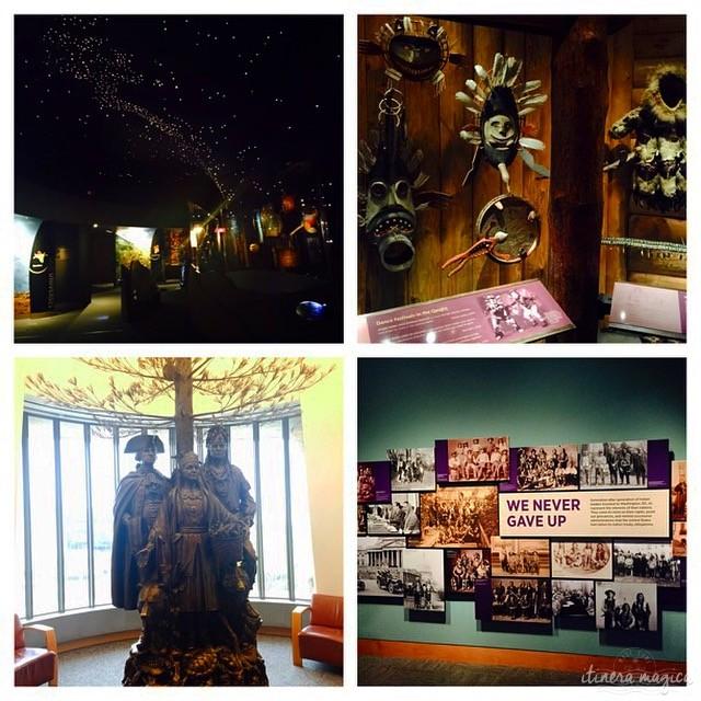 Au musée des peuples amérindiens, à Washington DC.