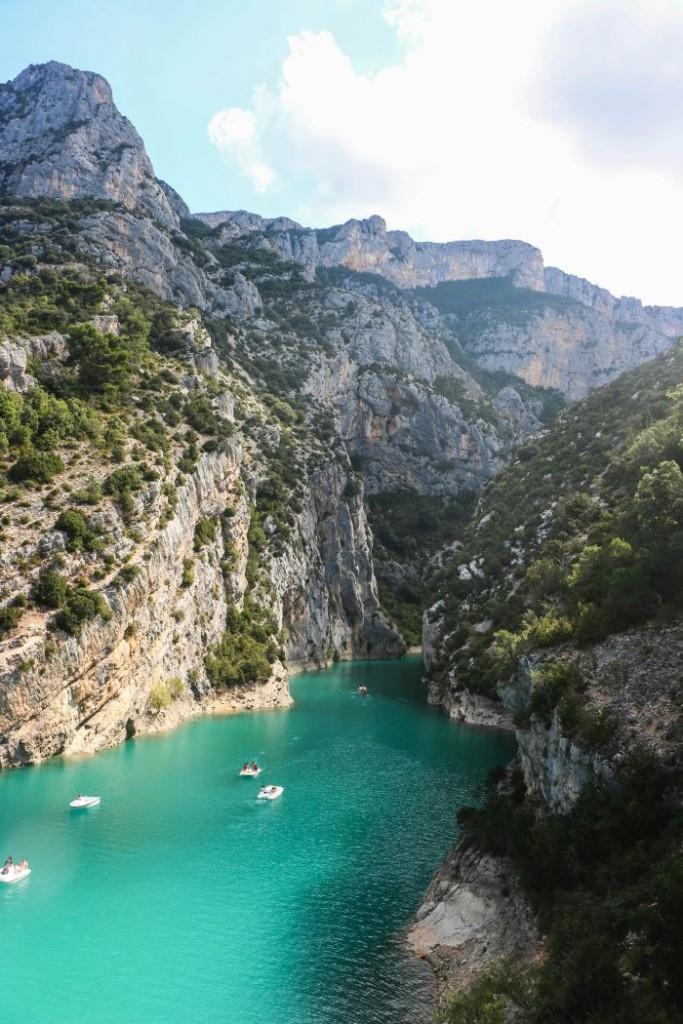Lac de Sainte Croix. Coins secrets de Provence. Durance, Lubéron, Haute Provence sur Itinera Magica