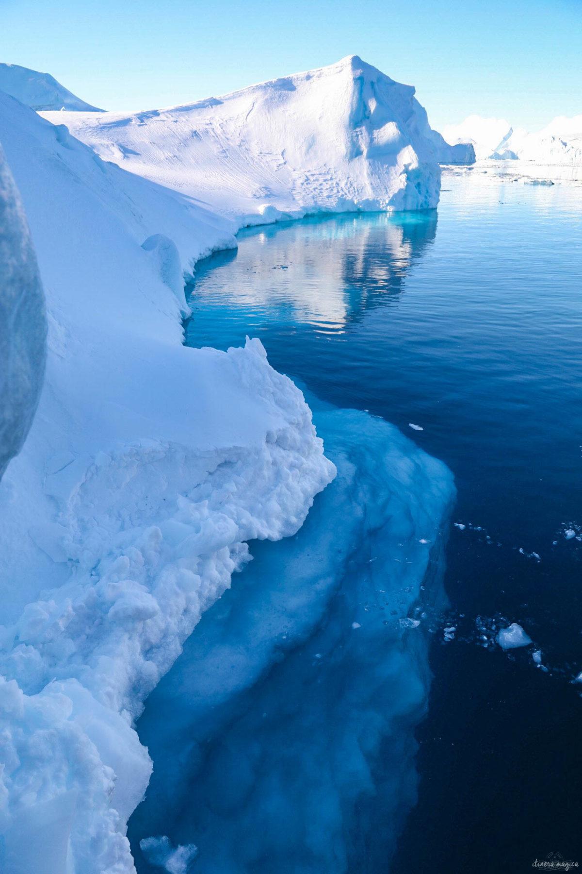 Les icebergs d'Ilulissat. Découvrez un fabuleux voyage à Ilulissat, Groenland.