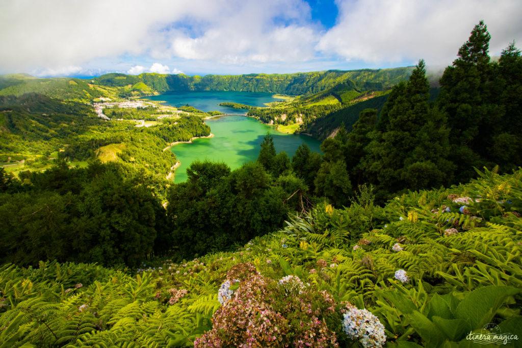 Quelle île choisir aux Açores ? Que faire aux Açores ? Sete Cidades, Sao Miguel