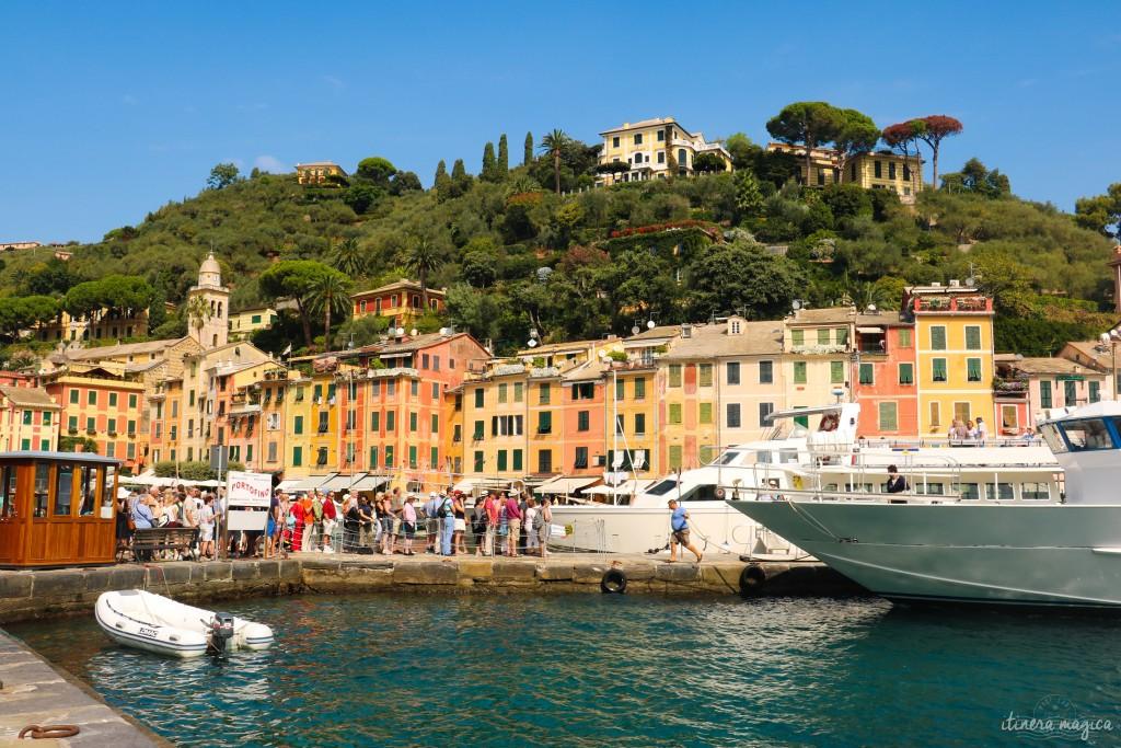 Le port de Portofino.