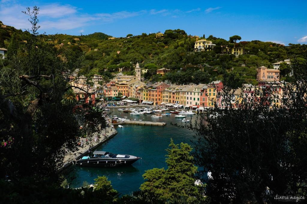 Portofino, vu du château.