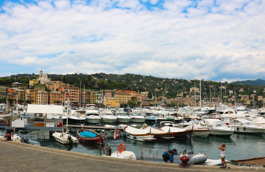 Port de Santa Margharita Ligure.