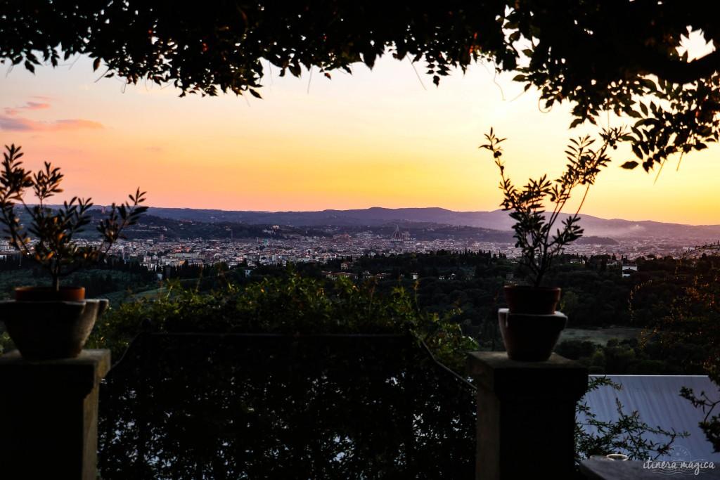 Crépuscule florentin.