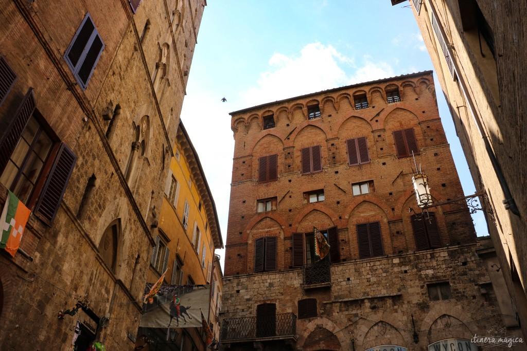 Sienne, au coeur de la Toscane